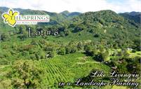Panoramic View Lot #6 in The Springs de Boquete Close to Town – Lote con Vista Panorámica