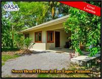 Sweet Beach House for Sale in Las Lajas, Panama – Dulce Casa en la Playa en Venta en Las Lajas, Pana