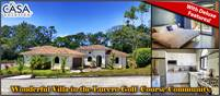 Price Reduction! Exquisite Villa on Golf Course at a Very Low Price in the Lucero Luxury Community