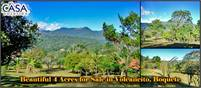 Beautiful 4 Acres for Sale in Volcancito, Boquete, Panama 5 Minutes from Downtown
