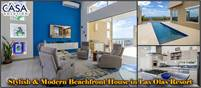 Stylish & Modern Beachfront House With Infinity Swimming Pool For Sale in Las Olas Resort Community