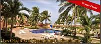 Three Bedroom Oceanview and Oceanfront Condo for Sale in Las Olas Resort, Chiriquí, Panama