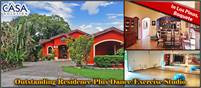 Outstanding Residence Plus Dance/Exercise Studio in Desirable Los Pinos, Volcancito,