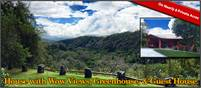 Boquete House Plus Guest House & Greenhouse on Nearly 8 Private Acres w/Wow Views & Mountain Spring