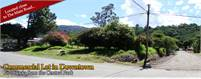 Downtown Boquete Land For Sale with Small Pretty Stream Near The Library