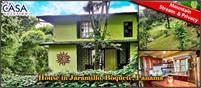 House for Sale in Jaramillo, Boquete, Panama with Great Views, Pretty Grounds, Mountain Stream