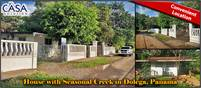 House with Seasonal Creek for Sale in Dolega, Panama Between Boquete and David