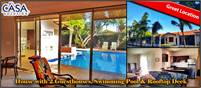 House with 2 Guesthouses, Swimming Pool & Rooftop Deck for Sale in Villa Mercedes, David, Panama
