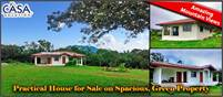 Practical Brand New House with Solar Energy System for Sale on Spacious, Green Property with Views