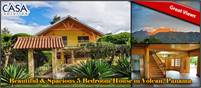 Beautiful & Spacious 5 Bedroom House for Sale in Volcan, Panama