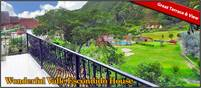 Great Deal! Wonderful Valle Escondido Boquete Panama House With Huge Balcony & View for Sale or Rent