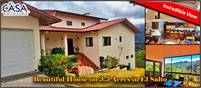 Beautiful House with Incredible View on 3.5 Acres in El Salto, Boquete, Panama