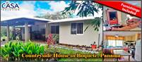 Countryside House for Sale in Boquete, Panama Only 12 Minutes to Downtown – Furnishings Included