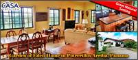 Garden of Eden Home for Sale in Sweet Community of Newer Homes in Potrerillos Arriba, Panama