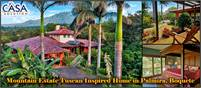 Mountain Estate Tuscan Inspired Home in Palmira, Boquete, Panama – Choose from 2 acres or 3.4 acres