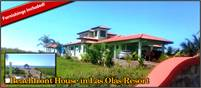 Panama Beach Life Awaits! Beachfront House for Sale in Las Olas Resort Community, La Barqueta,