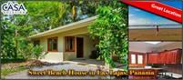 Sweet Beach House for Sale in Las Lajas, Panama