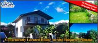 Conveniently Located House for Sale in Alto Boquete, Boquete, Panama with Extra 1 Bedroom Annex