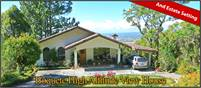 High Altitude Tremendous View House for Sale in Jaramillo, Boquete