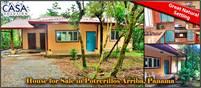 Tropical Setting House for Sale in Potrerillos Arriba, Panama near Boquete