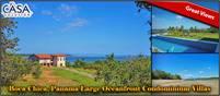 Boca Chica, Panama Large Oceanfront Condominium Villas – Choose from 2 Left – Or Buy Them Both