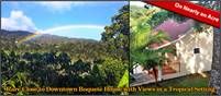 Rare Close to Downtown Boquete House 4 Sale on Nearly an Acre of Land w/Views in a Tropical Setting