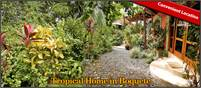 Tropical Boquete House for Sale with Jacuzzi, Rock Fireplace, Huge Terrace & Other Great Features