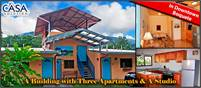 A Building with Three Apartments & A Studio For Sale in Downtown Boquete, Panama