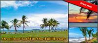 Low Price! Oceanfront House Plus Guest House, Well, Solar & Entertainment / Yoga Area