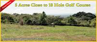 20,000 square meter lot – Close to 18 hole golf course
