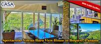 Spectacular Canyon and Volcan Baru View House for Sale in Boquete, Panama – Furnishings Included