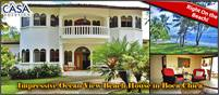 Extremely Impressive Right On the Beach & Ocean View House in Boca Chica Plantation and Club