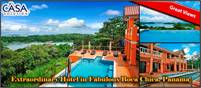 Extraordinary Hotel for Sale in Fabulous Boca Chica, Panama – Would Also Be An Incredible Home