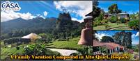 A Family Vacation Compound for Sale in Alto Quiel, Boquete, Panama – Accommodating Up to 16 persons