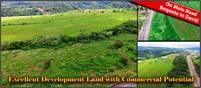 Excellent Development Land for Sale On Main Road Between Boquete & David, Panama