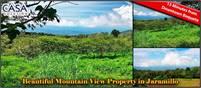 Beautiful Mountain View Property High in the Jaramillo Area of the Talamanca Mountain Range