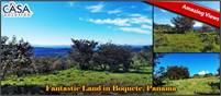 Fantastic View Land for Sale in Boquete, Panama – Terreno con Fantástica Vista en Venta en Boquete,