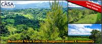 Beautiful View Lots in Gorgeous Caizan Community Just 15 Minutes from Volcan