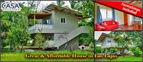 Great, Affordable House for Sale in Las Lajas, Beautiful Beaches in this Community –  Furnished