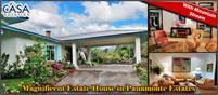 Magnificent Estate House with Mountain Stream for Sale in Panamonte Estates, Downtown Boquete