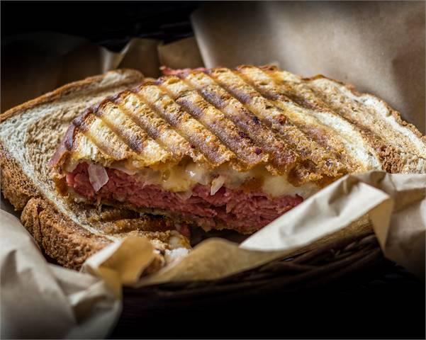 Classic Reuben Sandwich at Sugar & Spice, Boquete