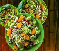 Asian Chicken Salad Plate at Sugar & Spice, Boquete