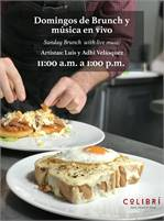 Brunch with Live Music at Colibri