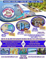 Current Specials at The Cosmic Crab in Bocas del Toro