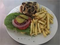 Burger Blast Sunday at Boquete Sandwich Shop