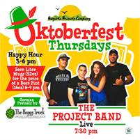 The Project Band and 2 for 1 Burgers Thursdays at the Brewery