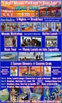 Upcoming Mosaic Workshops at The Cosmic Crab in Bocas del Toro