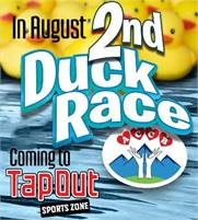 Saturday, August 14th, ACCB's 2nd Duck Race Fundraiser