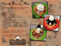 Pancake Saturday at Sugar & Spice