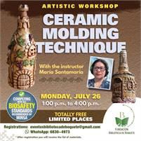 Ceramic molding technique class
